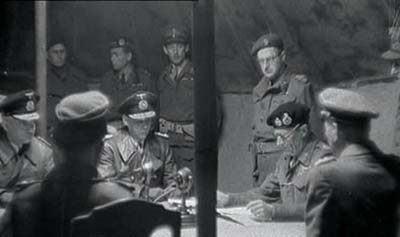 German surrender on Luneberg Heath 1945