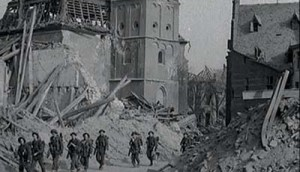 Still from WWII footage