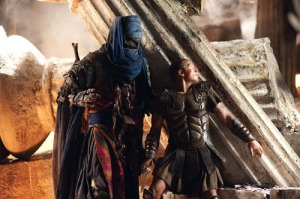 Sam Worthington as Perseus and Ian White as Sheikh Suleiman in 'Clash of the Titans' - 2010(C)2010 Warner Bros Entertainment Inc & Legendary Pictures. Photo by Jay Maidment