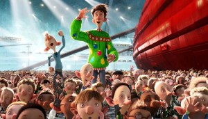 'Arthur Christmas' (2011), the first film that I operated the 3D convergence for with stereographer Corey Turner