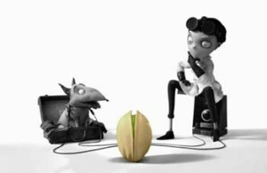 'Wonderful Pistachos- Get Crackin' (2012), the first commercial I graded in affiliation with Frankenweenie
