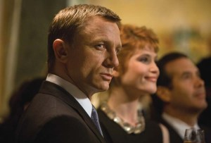 'Quantum of Solace' (2008), the first film I assisted on with colourists Stephan Nakamura and Rob Pizzey
