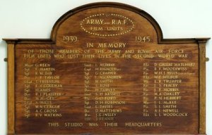 The AFPU & FAFFPU Roll of Honour